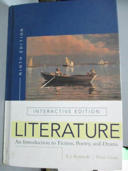 【書寶二手書T1/文學_WEJ】Literature-An Introduction to Fiction…_Kennedy