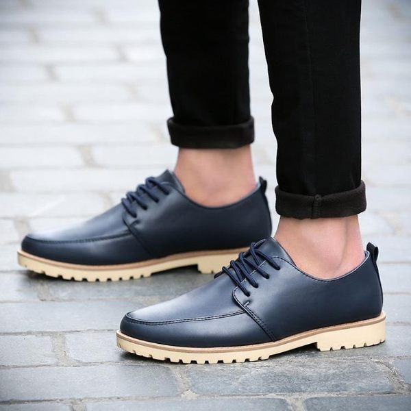 皮鞋男士休閒鞋商務潮流學生
