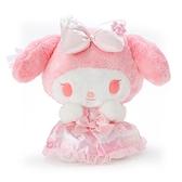小禮堂 美樂蒂 沙包絨毛玩偶 沙包娃娃 櫻花玩偶 小型玩偶 布偶 (粉 大和櫻花) 4550337-34904