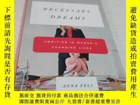 二手書博民逛書店NECESSARY罕見DREAMS:AMBITION IN WO
