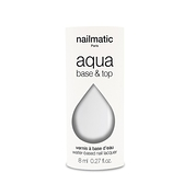 法國 Nailmatic 水系列經典指甲油 - Base Top 2合1-8ml