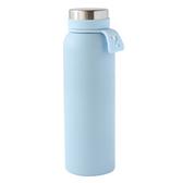 北歐拉環保溫杯 500ml 淺藍