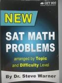 【書寶二手書T4/語言學習_XDN】New SAT Math Problems Arranged by Topic an