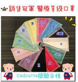 口罩 台灣製造 銷售冠軍 醫療等級口罩 50入 醫療等級 防護面罩/拋棄式//防塵/防臭