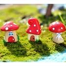 CARMO夢幻樹藤蘑菇屋(3入)微景觀 ...
