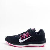 NIKE  ZOOM WINFLO 5 女慢跑鞋-黑/粉 AA7414-401