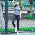 瑜珈服 運動套裝女瑜伽服跑步健身房短袖休閒速乾衣薄款夏季網紅瑜珈夏天【原本良品】