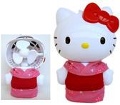 【卡漫城】 Hello Kitty 迷你 電風扇 13cm ㊣版 和風版 可攜式 迷你 電扇 隨身 凱蒂貓 女孩 電池