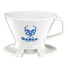 金時代書香咖啡 GABEE. V01陶瓷咖啡濾器組 1-2人份(藍) HG5545W-B