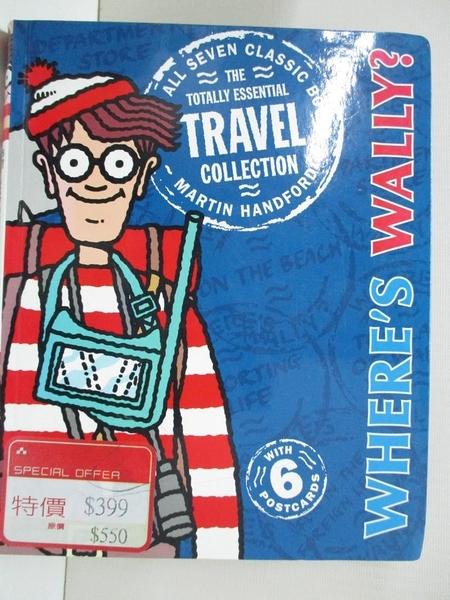 【書寶二手書T1/少年童書_D6C】Where's Wally? The Totally Essential Travel…