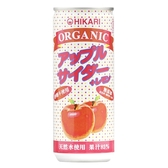 日本光食品 有機微氣泡果汁250ml(259g)-蘋果檸檬[衛立兒生活館]
