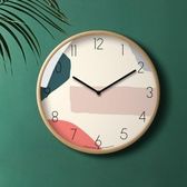 北歐靜音鐘錶現代簡約時鐘掛鐘客廳家用時尚創意個性掛錶大氣臥室  ATF  魔法鞋櫃
