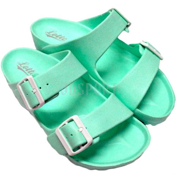 Lotto 樂得 EVA 女鞋 經典勃肯拖鞋 蒂芬妮綠 湖水綠 輕量 防水 台灣製 AIRWALK Birkenstock Arizona LT6AWS3805
