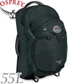 【OSPREY 美國 Farpoint 55 火山灰 M/L 旅行背包 】Farpoint 55/55L/旅行背包/子母包★滿額送