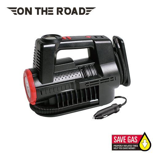 【ON THE ROAD】黑坦克高速數顯胎壓設定自動打氣機
