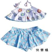 韓國小童女童寶寶泳衣分體游泳衣