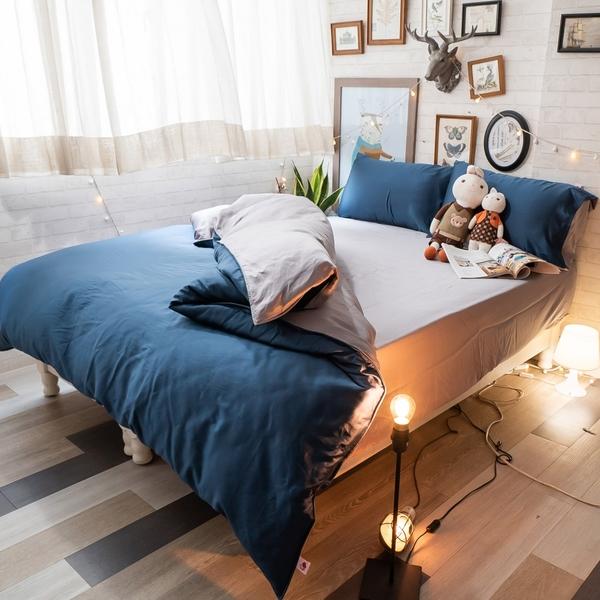 天絲(60支) 羅蘭Roland D1雙人薄床包三件組 專櫃級 床包二色可選 100%天絲 棉床本舖