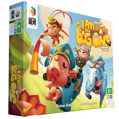 『高雄龐奇桌遊』 我是大師兄 I am the Big One 繁體中文版 正版桌上遊戲專賣店