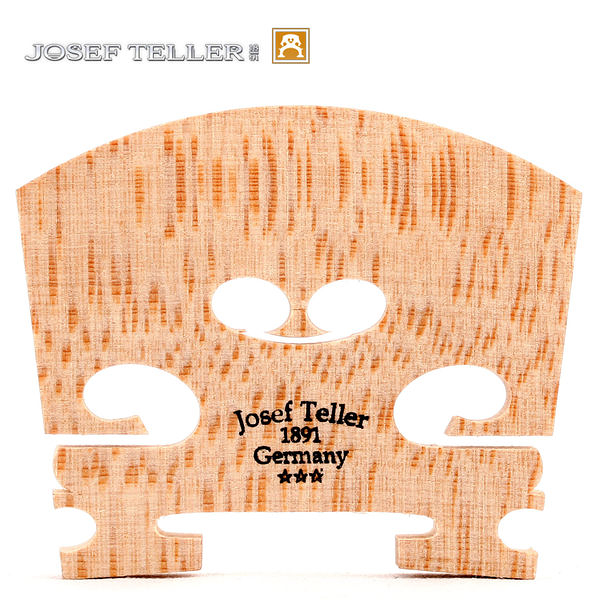 【小叮噹的店】德國原裝 Josef Teller 法式 小提琴 三顆星 琴橋 JTV59 公司貨
