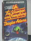 【書寶二手書T1/原文小說_LBU】Life, The Universe and Everything_Douglas Adams