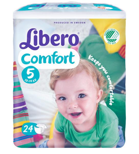 Libero 麗貝樂 嬰兒紙尿褲XL【5號-24片】