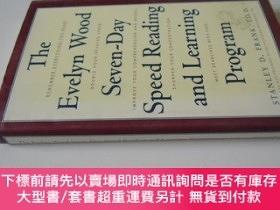 二手書博民逛書店英文原版罕見The Evelyn Wood Seven-Day Speed Reading and Learnin