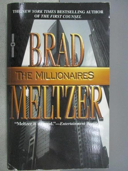 【書寶二手書T3/原文小說_C6E】The Millionaires_Brad Meltzer