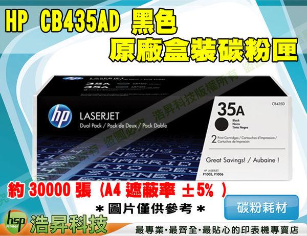 HP CB435AD 原廠黑色超精細碳粉匣 適用於LJP1005/1006