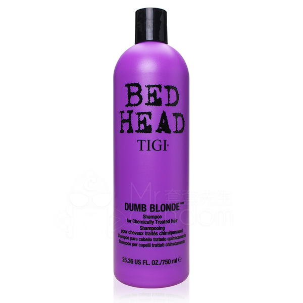 BED HEAD TIGI 護色洗髮精-金髮尤物 750ml (紫)【套套先生】寶貝蛋/美國