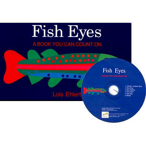 【麥克書店】FISH EYES:A BOOK YOU CAN COUNT ON /硬頁書+CD《主題:數數.海底生物》