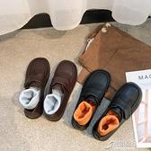 娃娃鞋 復古森繫ins小皮鞋女英倫學院風平底單鞋女2020秋款圓頭娃娃鞋潮 原本良品