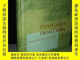 二手書博民逛書店POSTCARDS罕見FROM CHINA TRAVELS AL