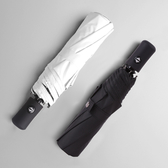 自動雨傘 男士折疊傘女晴雨兩用黑膠遮陽傘防曬防紫外線太陽傘簡約