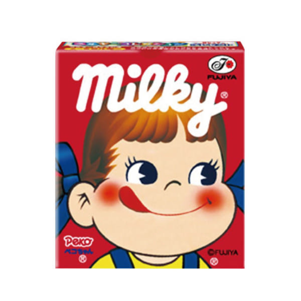 日本 不二家牛奶糖(方盒)23.8g【櫻桃飾品】 【24980】