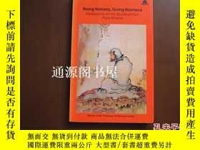 二手書博民逛書店英文原版:罕見Being Nobody,Going Nowher