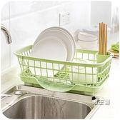餐具架瀝水架居家家廚房放碗架瀝水架置物架塑料收納架餐具架子XW(中秋烤肉鉅惠)