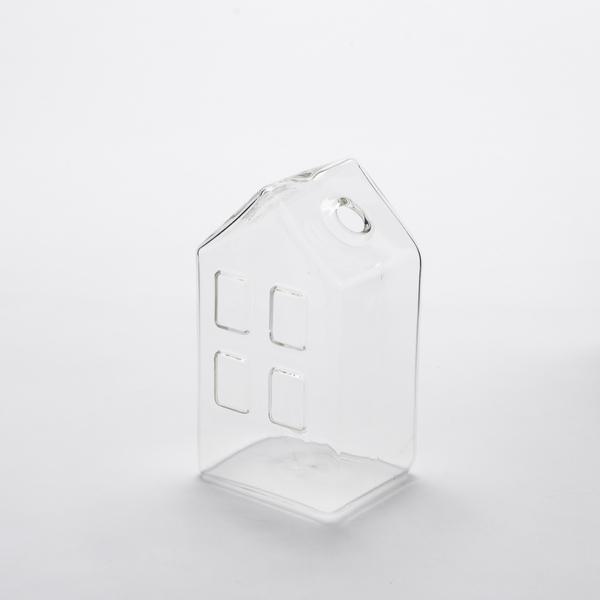 淨透微光燈工房子造型花器-生活工場