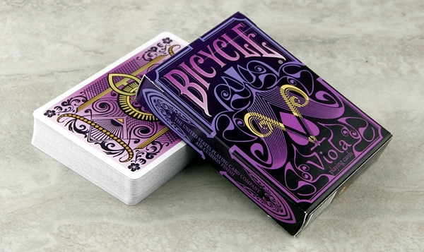 【USPCC撲克】Bicycle Viola Playing Cards