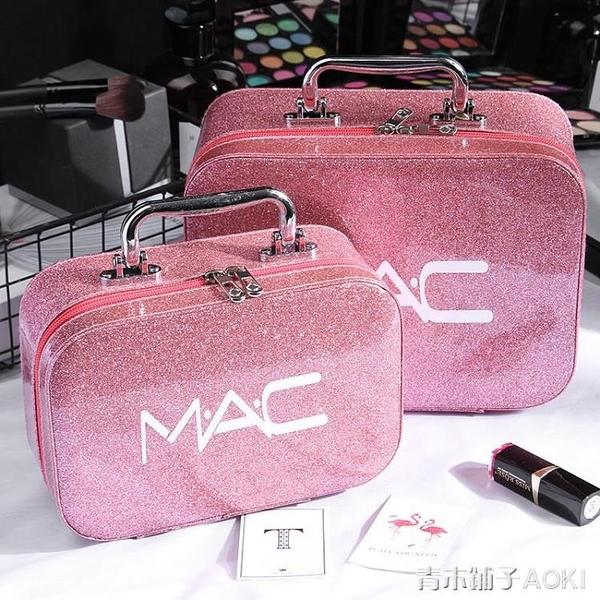 抖音同款化妝包ins風超火可愛韓版少女便攜多功能韓版簡約「青木鋪子」