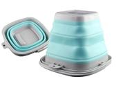 戶外可折疊水桶旅行可壓縮泡腳桶便攜式釣魚桶伸縮臉盆泡腳盆裝備-享家生活館