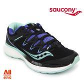 【Saucony】女款慢跑鞋 TRIUMPH ISO 4 輕量系列 -黑/紫(104134)全方位跑步概念館