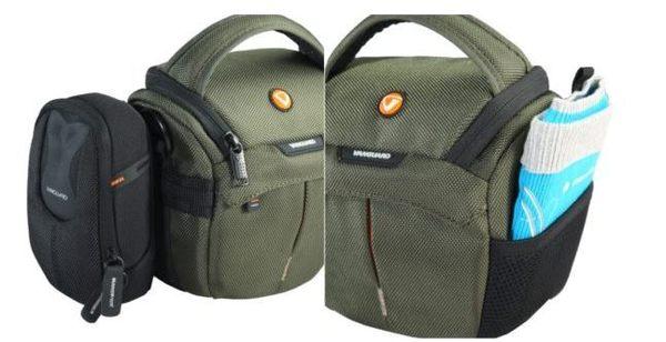 【晶豪野】Vanguard 精嘉 2GO 即行者 12Z  斜背腰掛攝影旅遊包 (黑/綠) 適SX60 P900 760D A5100