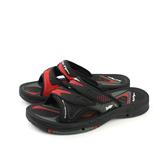 G.P 阿亮代言 拖鞋 涼鞋 防水 雨天 黑色/紅色 男鞋 G7593-14 no825