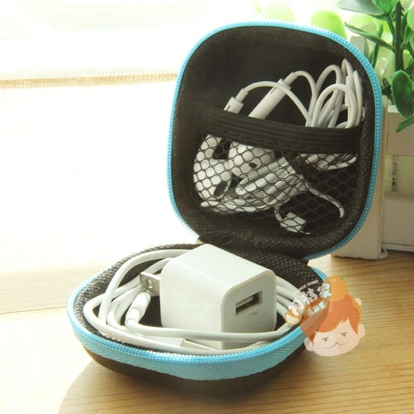 PU耳機盒收納包迷你數碼收納整理包