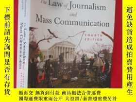 二手書博民逛書店The罕見Law of Journalism and Mass
