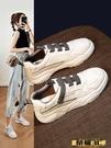 板鞋 小白鞋運動鞋女2021春夏新款鞋子透氣休閒百搭白色板鞋潮春季3C 618購物