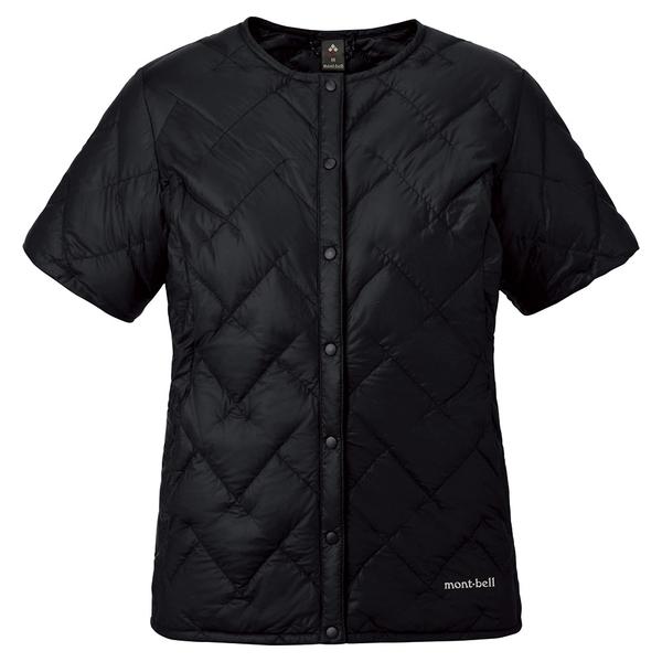 Mont-bell 800FP 高保暖 短袖 輕鵝絨羽絨 背心 (1101613 BK) 女 特惠款