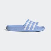 Adidas Adilette Aqua [EE7346] 女 運動 涼鞋 拖鞋 休閒 舒適 輕量 愛迪達 水藍