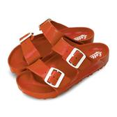LIKA夢 LOTTO 馬卡龍雙扣環時尚輕量拖鞋 海灘拖鞋 室內、外拖鞋 小紅莓 5622 女