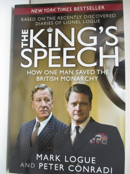 【書寶二手書T1/政治_DSB】The King s Speech: How One Man Saved the…